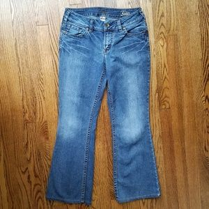 Silver Suki Medium Wash Bootcut Jeans Size 30